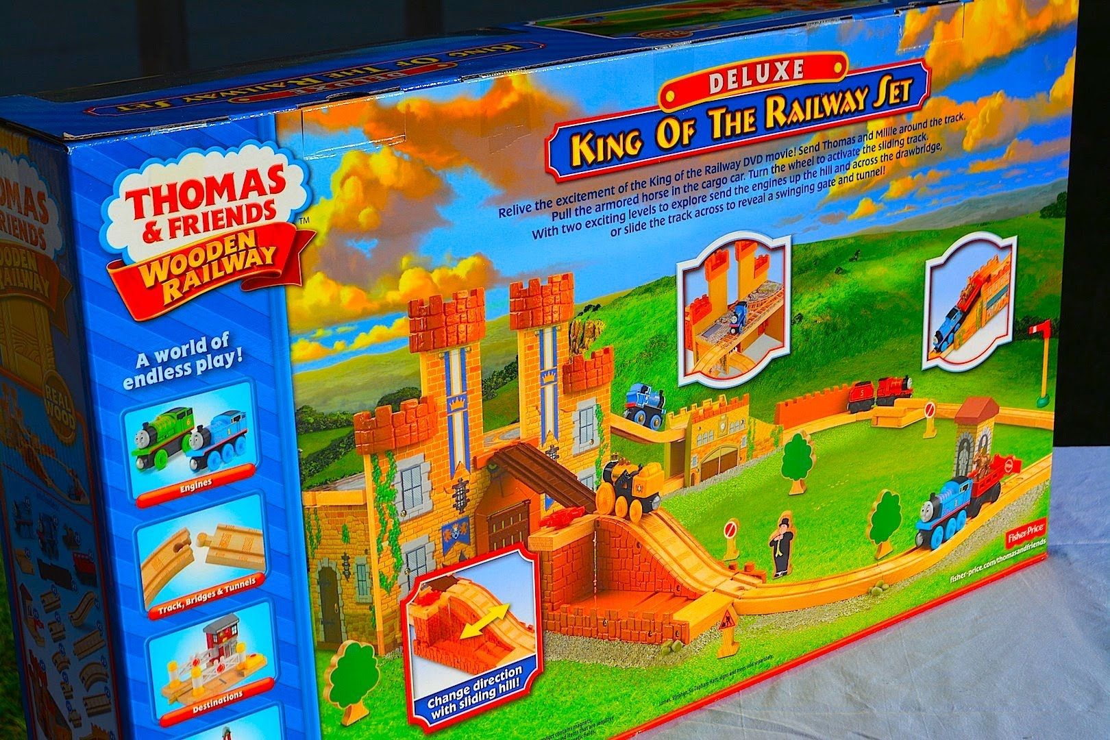 A Quick Review Of The Thomas Friends Wooden Railway King Of The