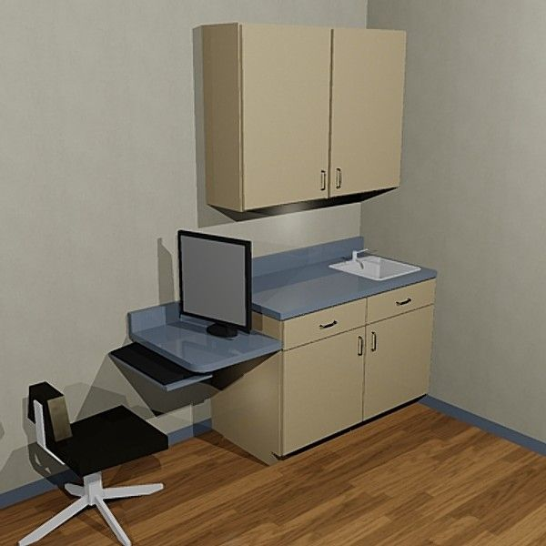 Smax Exam Room Cabinet Acad Doctors