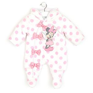 Style; In Modest Two Baby Girls Outfits 9-12 Months Bambi And Minnie Mouse Fashionable