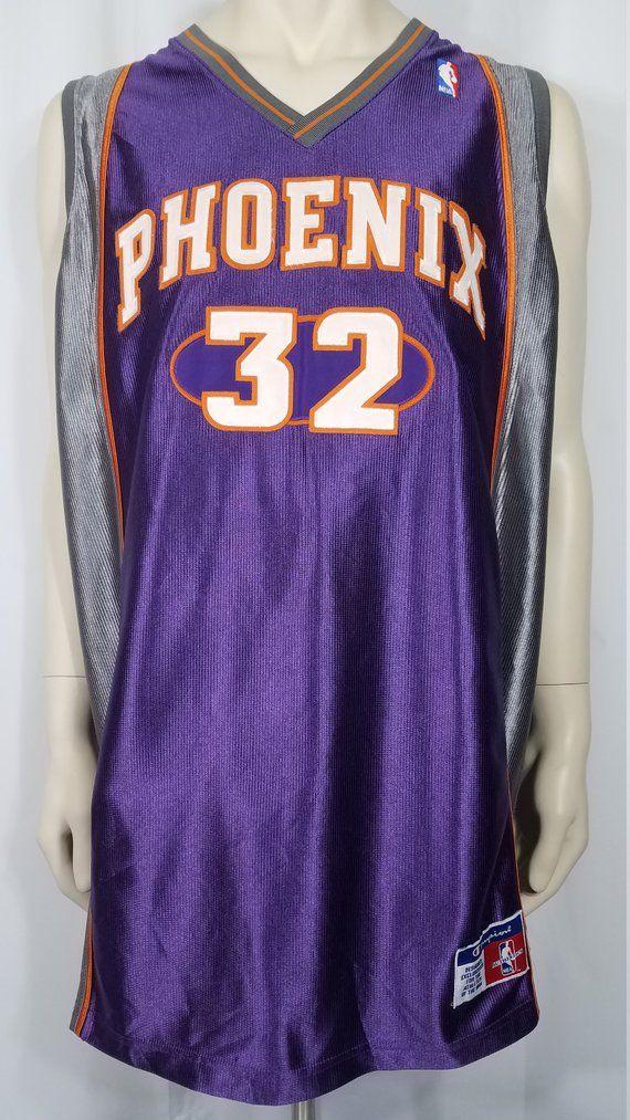 4583acb4f Authentic Vintage Champion Phoenix Suns Jason Kidd #32 purple gray basketball  jersey mens size 52 XX