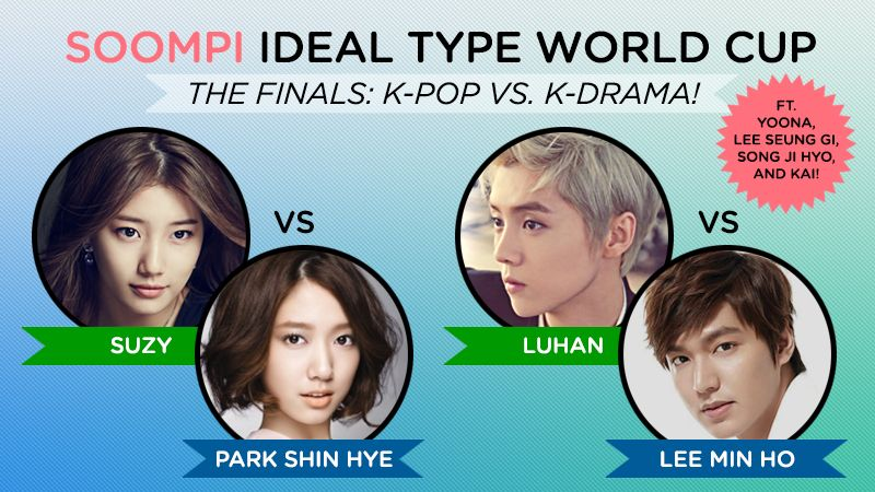 Soompi Ideal Type World Cup Final Round World Cup Korean Idol Finals