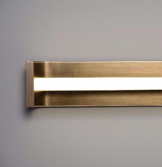 22 Spacek Wall Sconce Matthew Fairbank Design Lighting Lightingdesign Bespoke Madeinbrooklyn Madeinnyc Interior Strip Lighting Linear Lighting Sconces