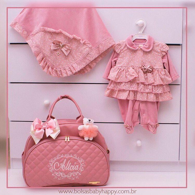 86aca2ead Mamães sem legenda para este kit sendo saída de Maternidade + bolsa G  coleção Luxo 💝