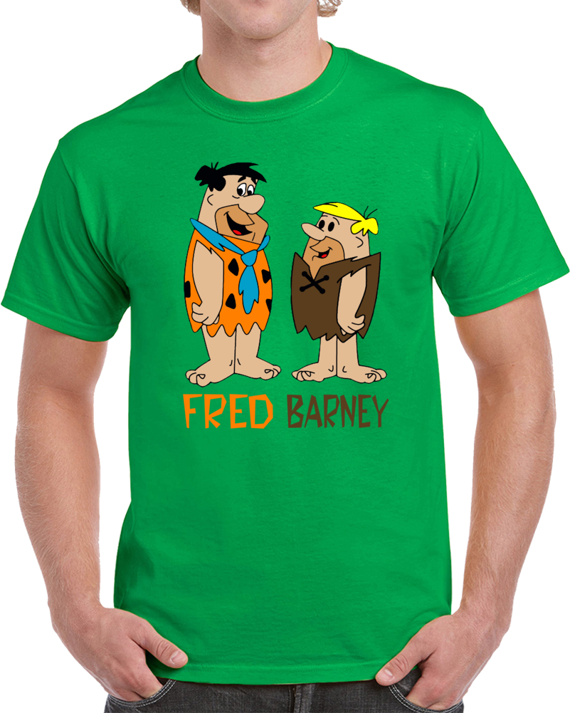 Fred Flinstone And Barney Rubble T Shirt Personalized T Shirts Shirts T Shirt