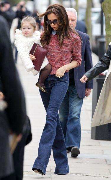 Victoria Beckham #streetstyle