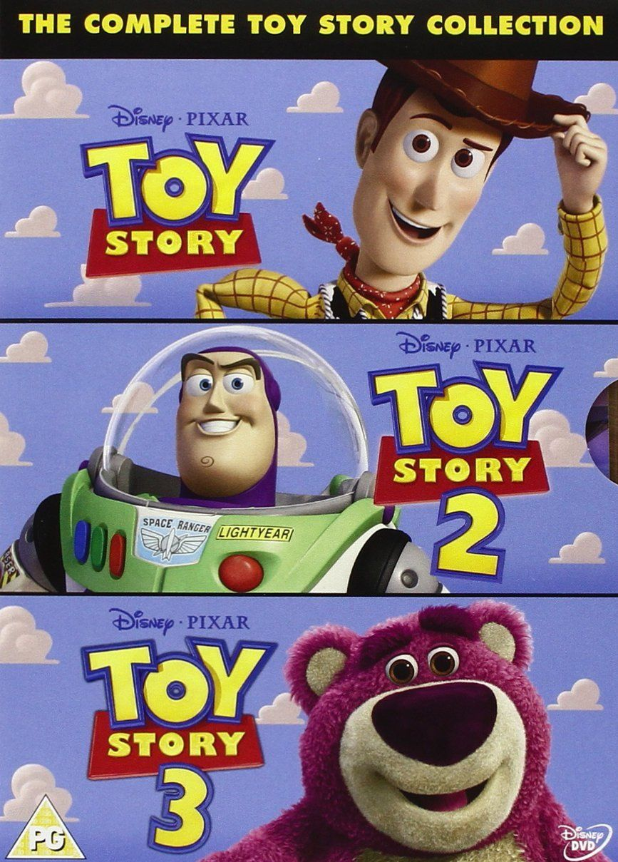 The Complete Toy Story Collection: Toy Story / Toy Story 2 / Toy ...