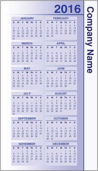 This Is A Vistaprint Calendar Card We At Minuteman Press Can