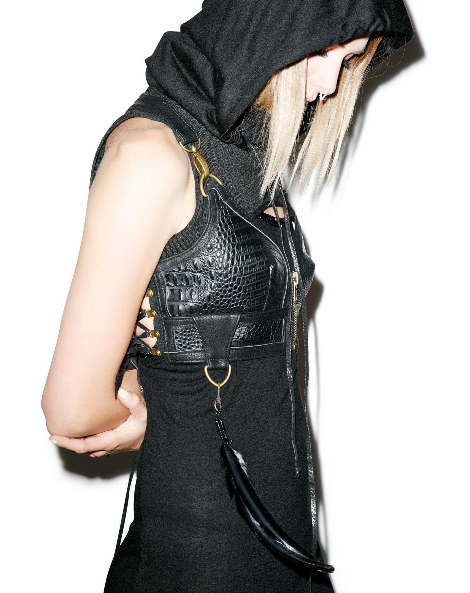 Badlands Bra Top | Fashion, Bra tops, Leather bra
