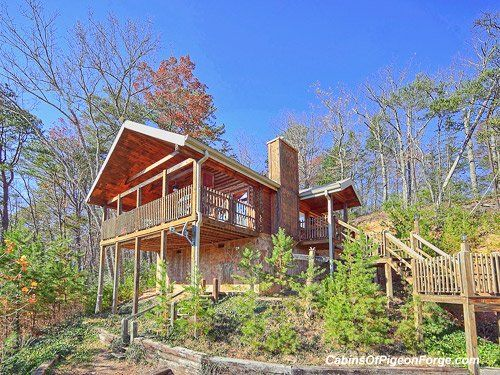 Merveilleux Brave Eagle Cabin Close To Pigeon Forge   Perched On A Hillside With A Big  View