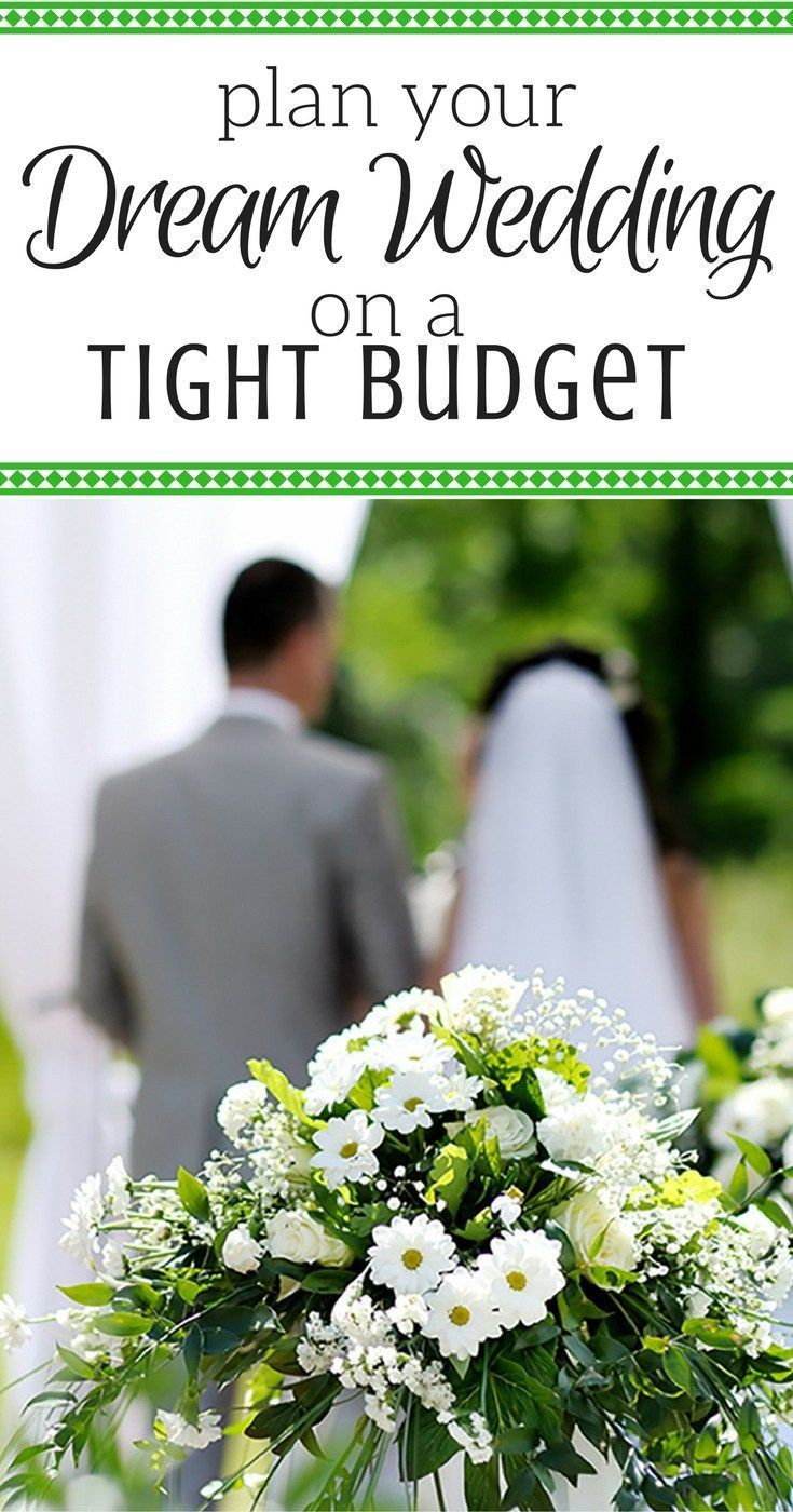 How to plan a low cost wedding