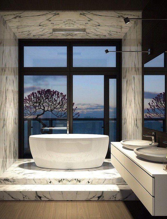 Relooker une salle de bain, 42 idées en photos!   Salle de ...