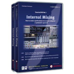 Internal Mixing Tutorial Dvd Vol 1 2 Bundle Internal Mixing Is Aimed At All Harddisk Recording Program Users Who Do Their Mixing M Tutorial Used Computers Dvd