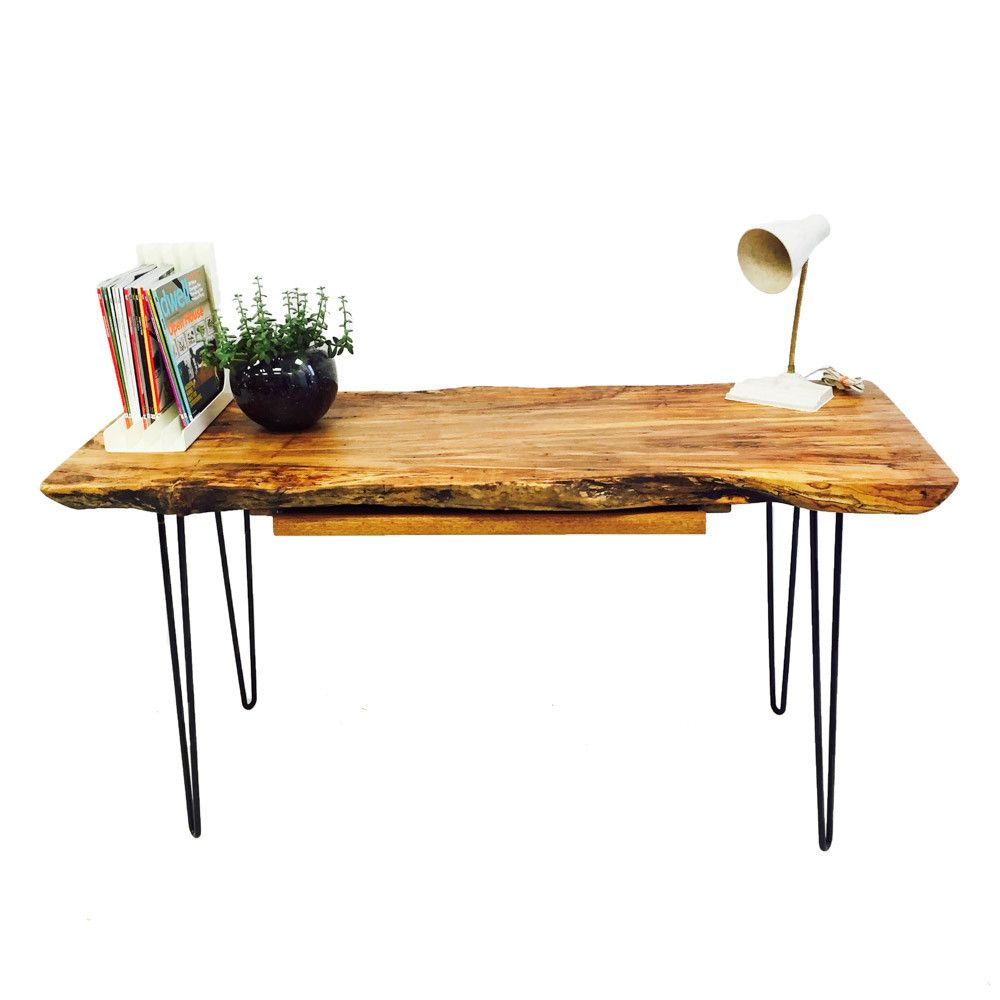 Live edge ambrosia maple desk desks wood tables and live edge wood