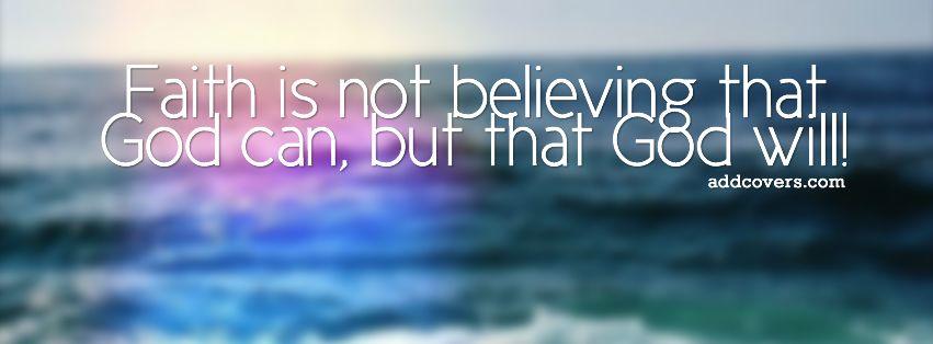 Faith Facebook Covers Faith in God Facebook Covers for