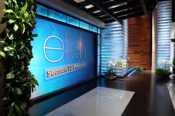 The Ellen Degeneres Show Set Design Gallery Escaparates