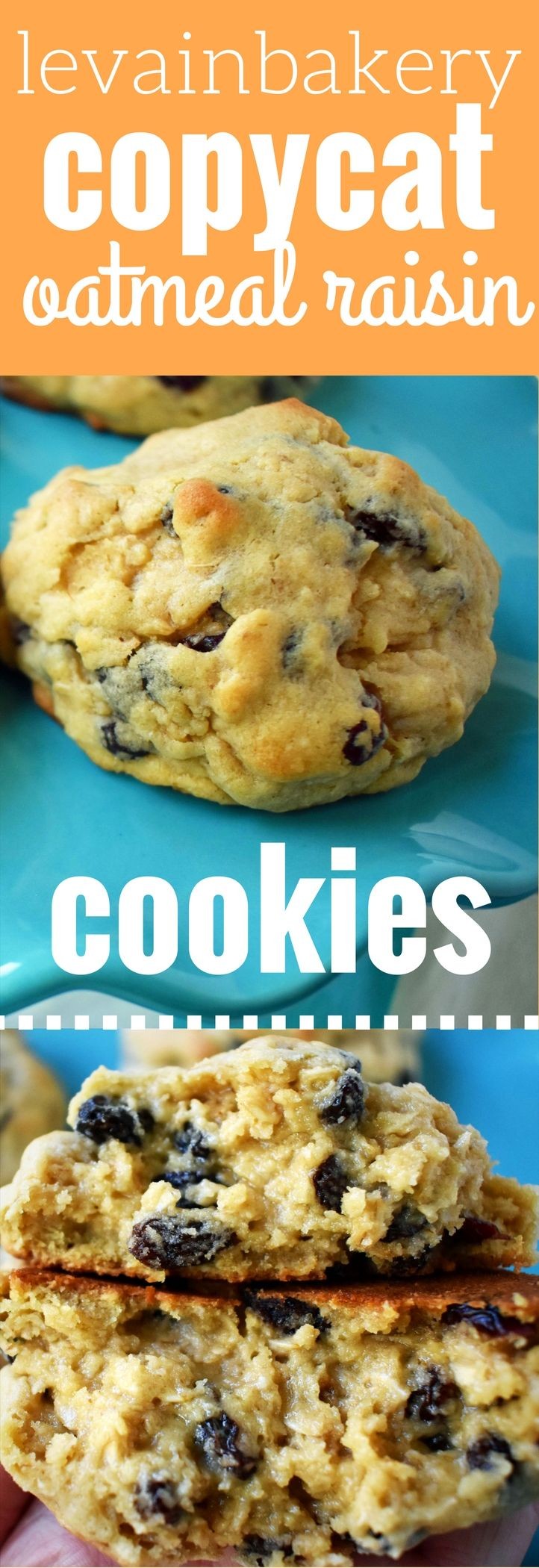 Levain Bakery Famous Oatmeal Raisin Copycat Cookies Recipe This Bakery Has A Long Line In New
