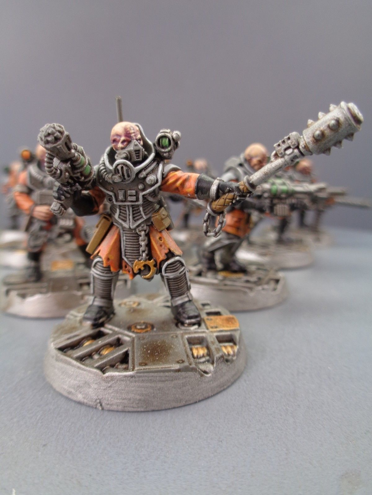 Tyranid Genestealer Cult Neophyte Hyrbid FLAMER GUN 40K Warhammer