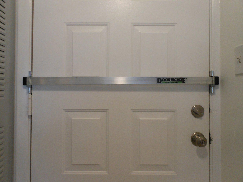 Doorricade Door Bar Hardware Locks Amazon Com Doors