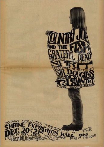 Doug Sahm + Grateful Dead poster !