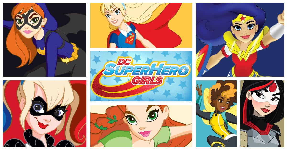 Class Is In Session So Join The Dc Super Hero Girls As