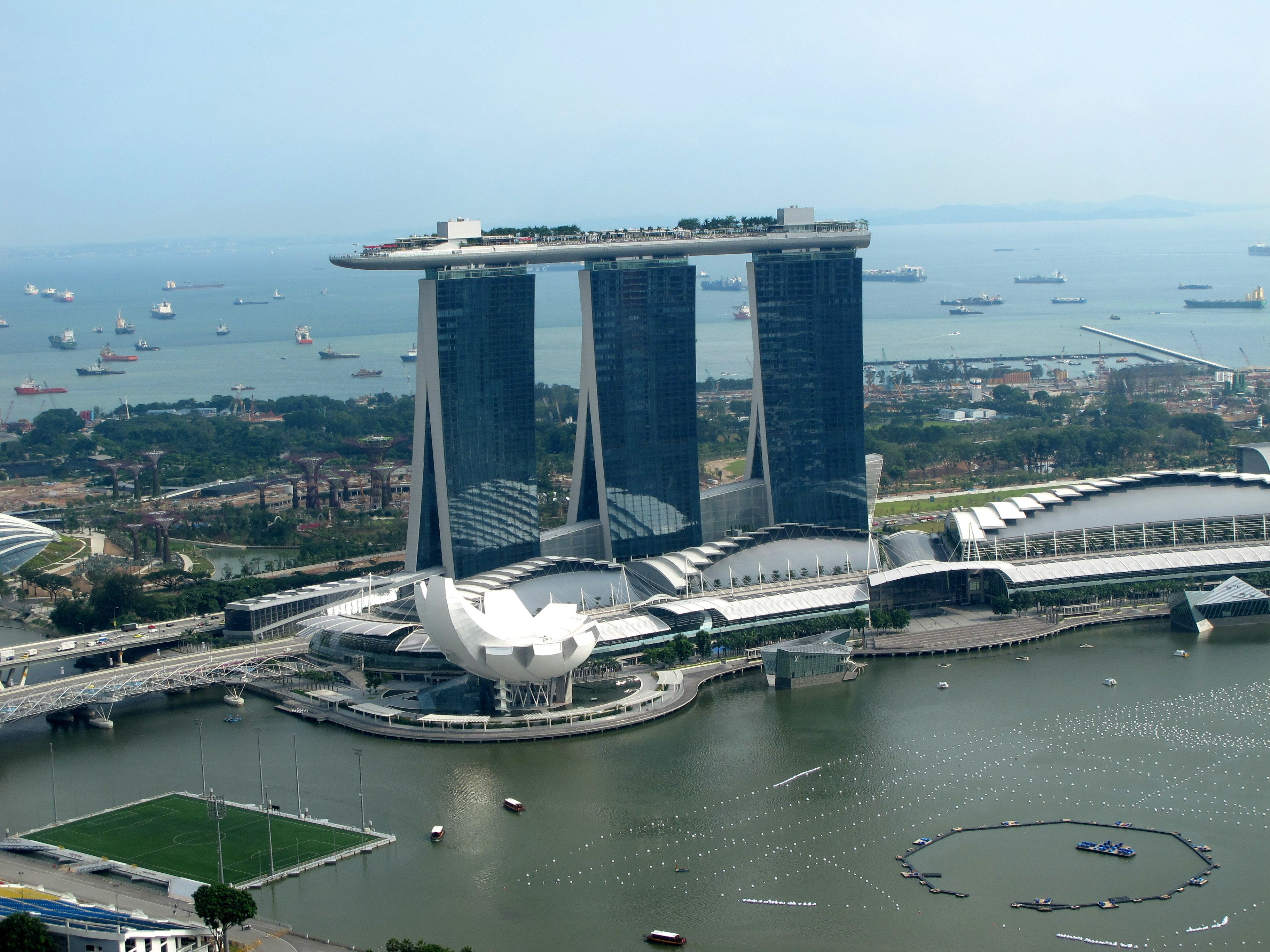Marina Bay Sands ( view from Swissotel The Stamford )