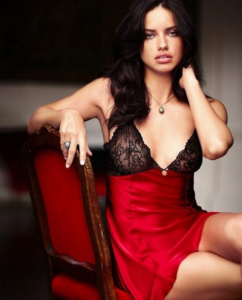 Adriana Lima Victoria's Secret Lingerie Photoshoot 2 | Spice it up ...