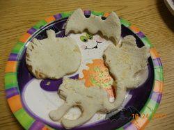halloween sandwiches fun food