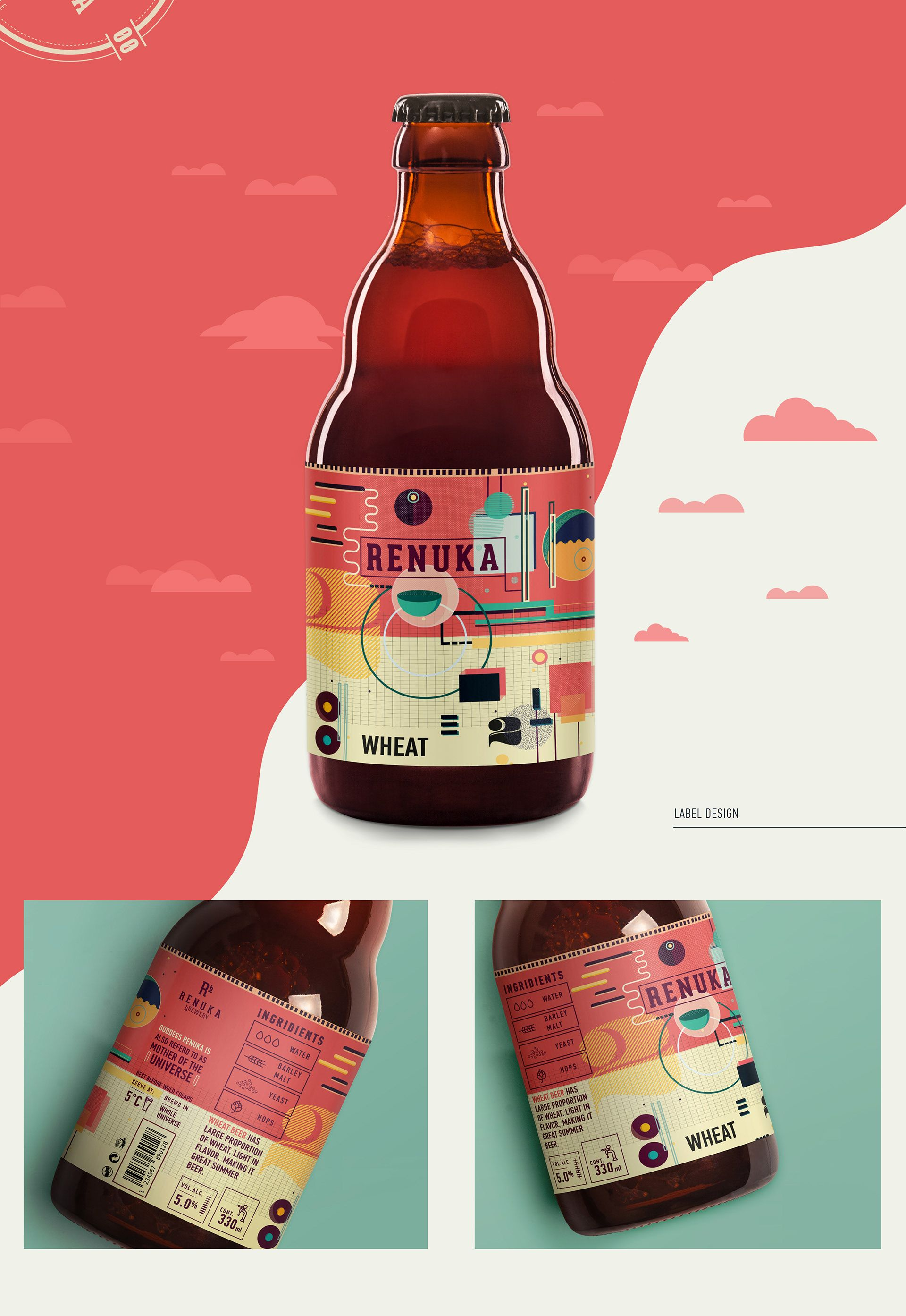 Renuka Brewery Branding Packaging On Behance Brand Packaging Branding Packaging