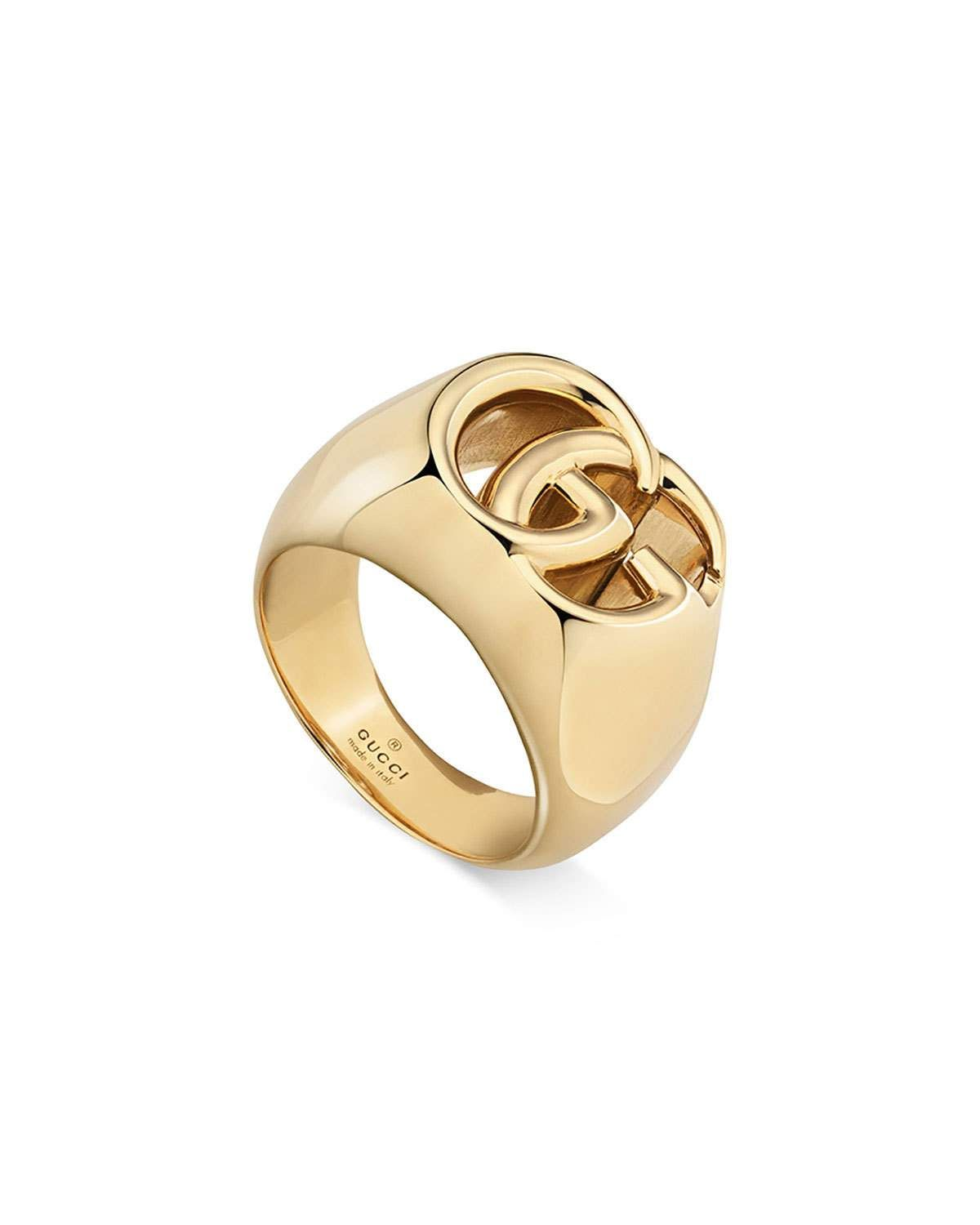 cbfa8efc3 Gucci Men's 18k Gold GG Running Ring, Size 10.5 in 2019 | Products ...