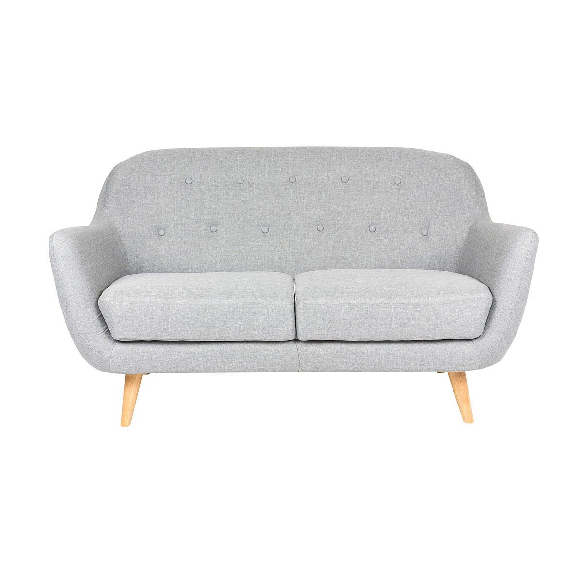 Lucia 2 Seater Sofa Light Grey Sofas Living Nood Nz Gray Sofa Living Sofas Light Gray Sofas