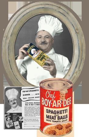Chef Hector Boyardee Ettore Boiardi I Am Very Glad That That Was Not His Real Name Chef Boyardee Chef Italy Restaurant