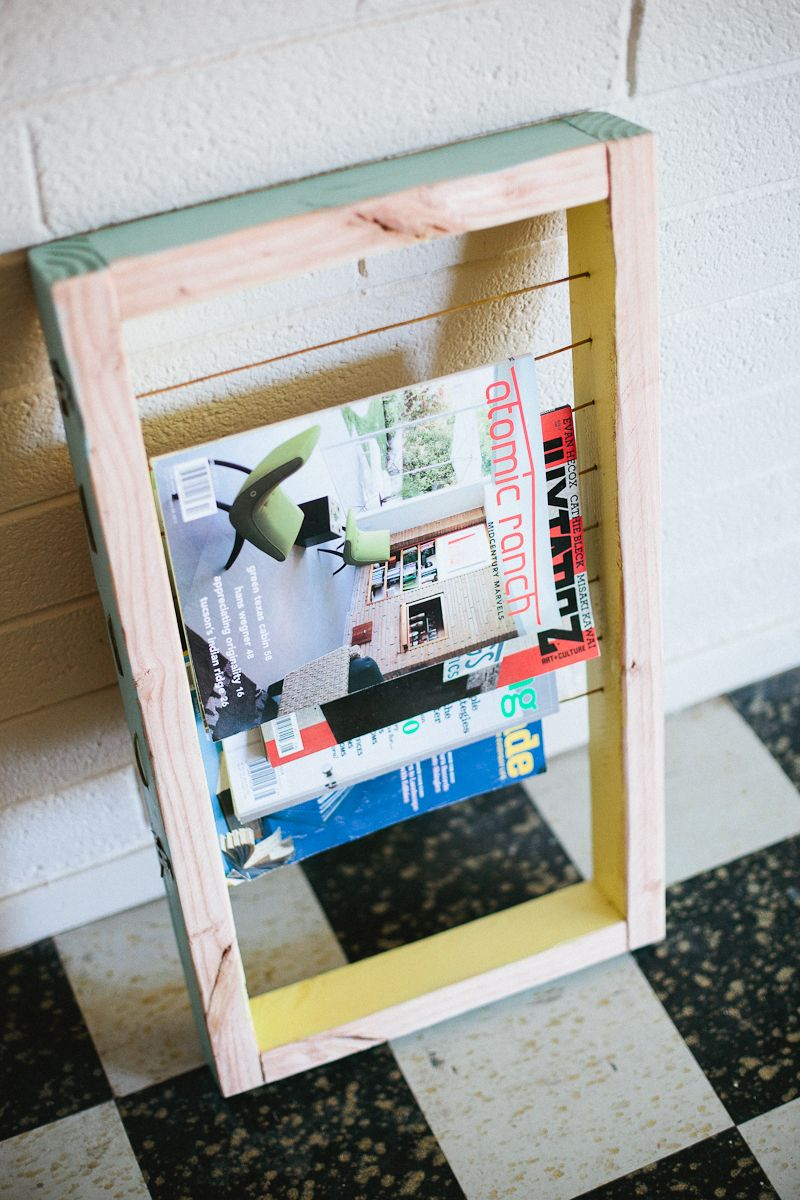 30 Renter Friendly Diy Ideas Diy Magazine Holder Magazine Rack
