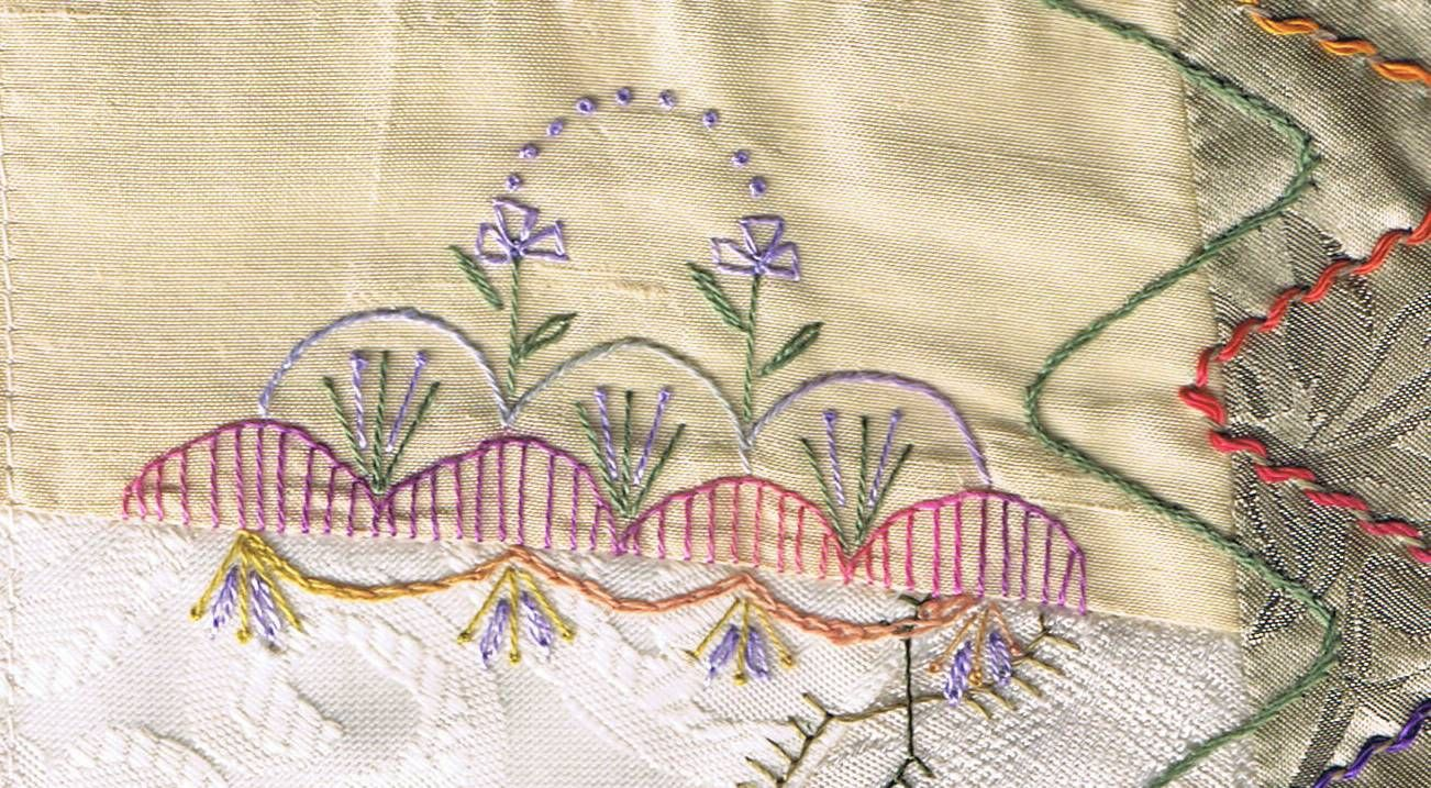 Following The Threads Dyob Using Carole Samples Treasury Of Crazy