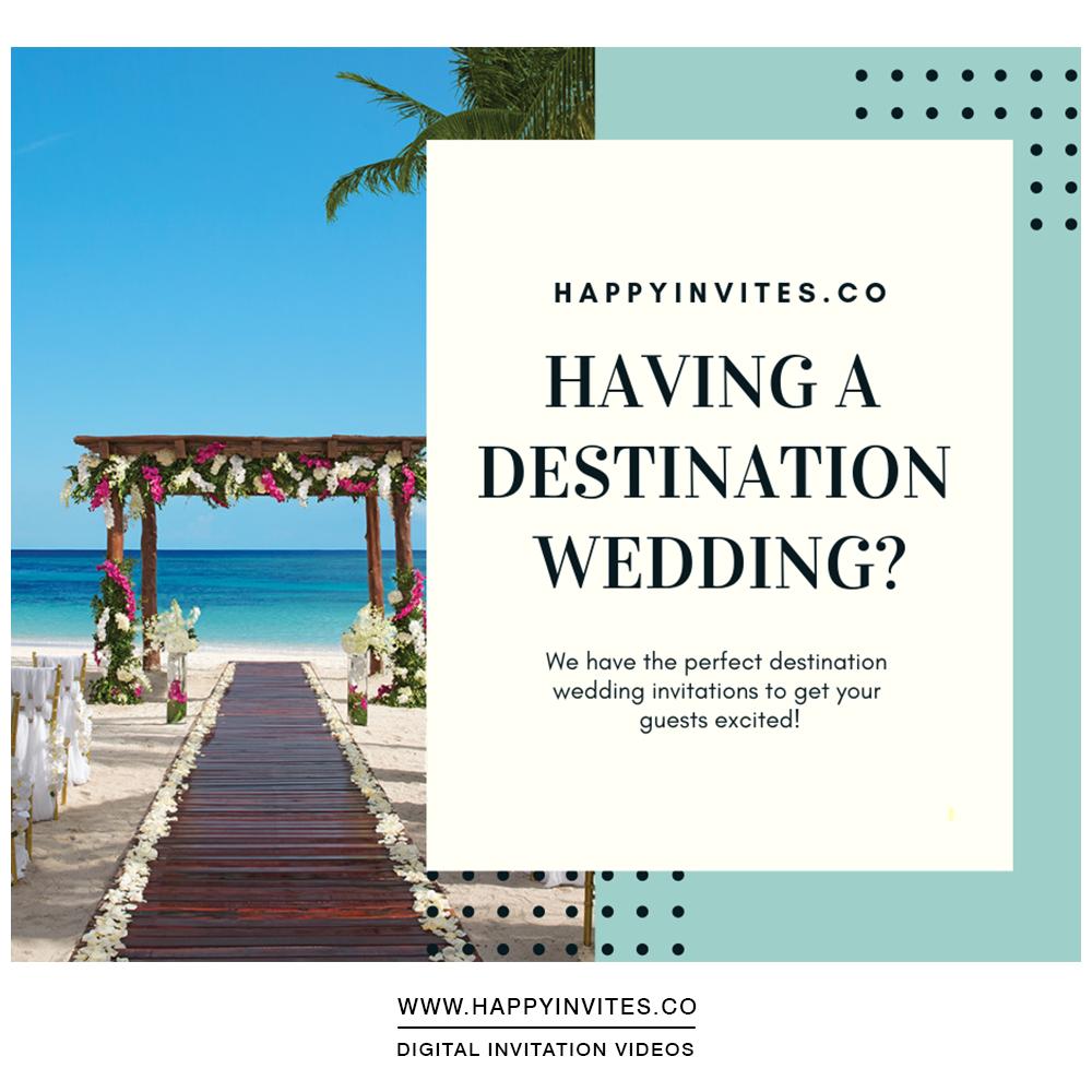 Destination Wedding Invitation Happy Invites Online Invitations Wedding Saving Destination Wedding Save The Dates Destination Wedding Invitations