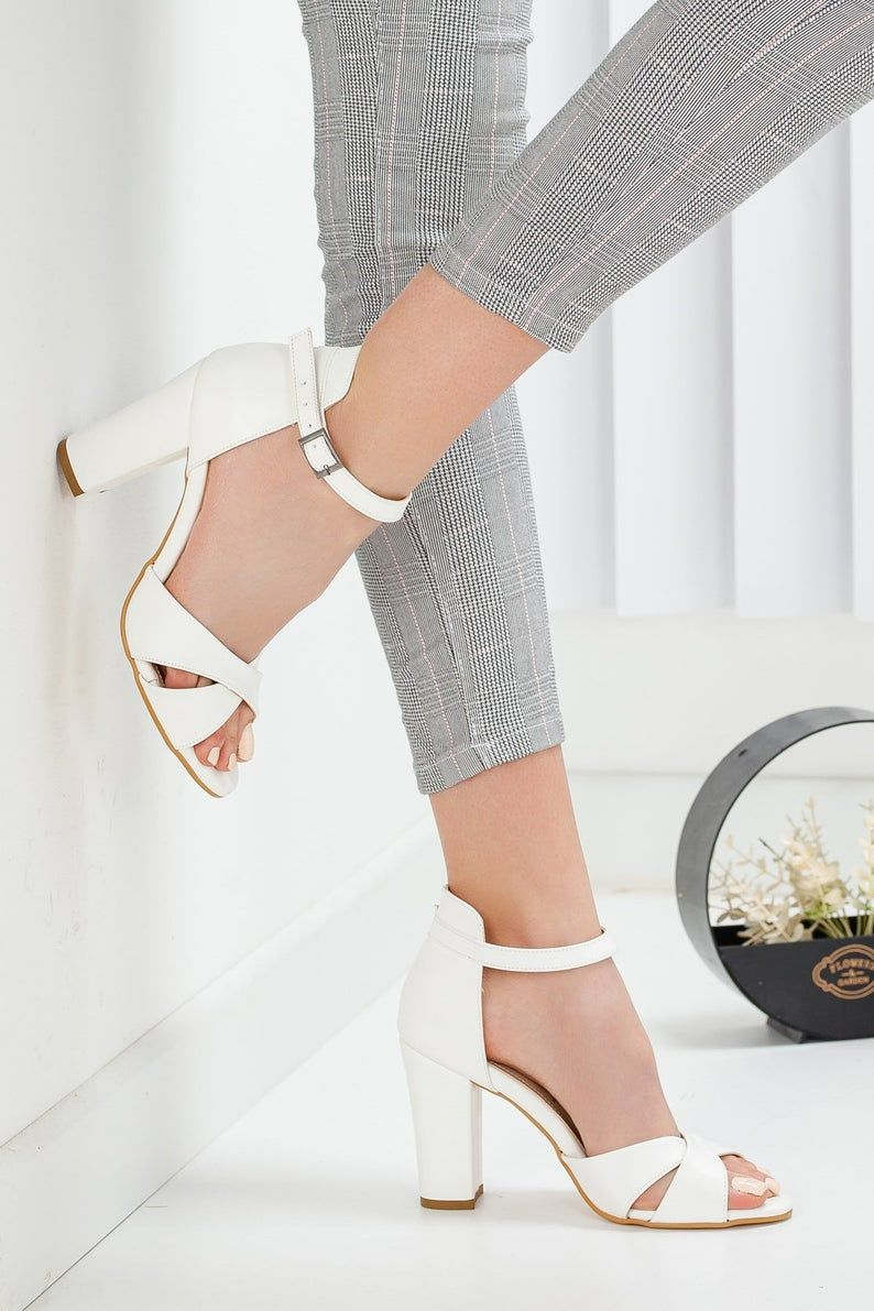 WHITE WEDDING HEELS Shoes For Women   High Heels for Bride Gallery