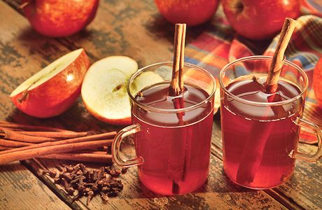 Image result for Cranberries and cinnamon  tea photography