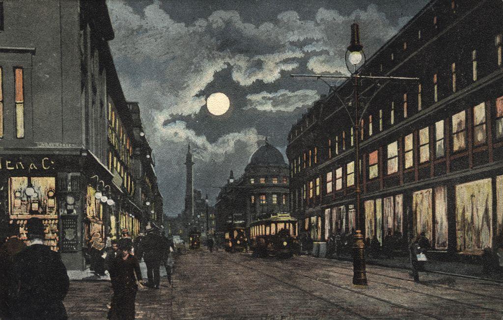 Grainger Street Newcastle upon Tyne Unknown 1904