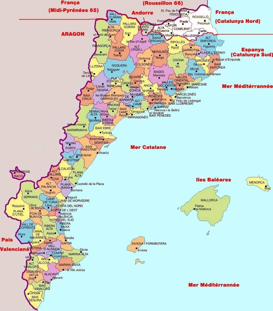 Catalunya (catalogne) | Maps | Pinterest