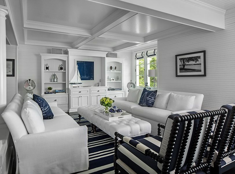 Classic Navy & White Cottages | The Cottage Company | Harbor ...