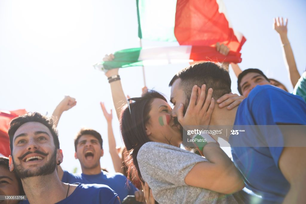 Italian Soccer Fans Celebrating Success Photography Ad Sponsored Fans Soccer Italian Photography In 2020 Celebrating Success Soccer Fans Couple Photos