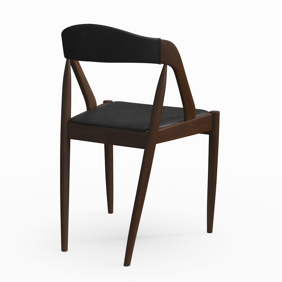 Sedia Barcelona 3d 3dmodel Kai Kristiansen S Dining Chair 3d Models For