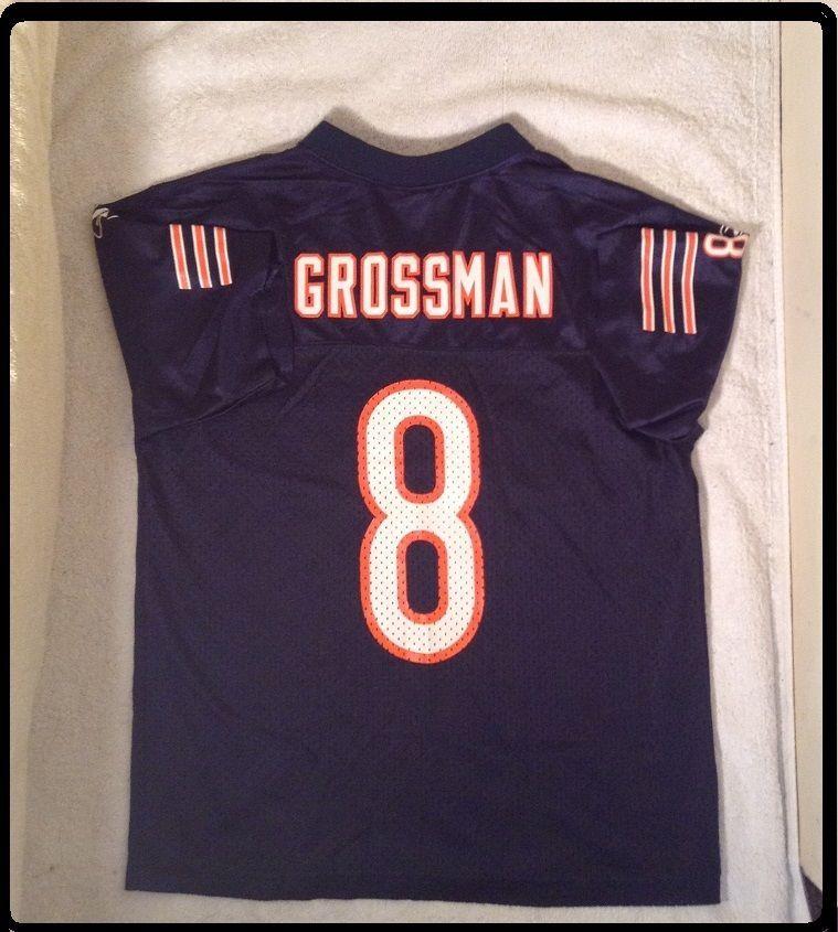 023e066b EUC+ Youth Medium 10-12 CHICAGO BEARS Rex Grossman Jersey NFL Boys ...
