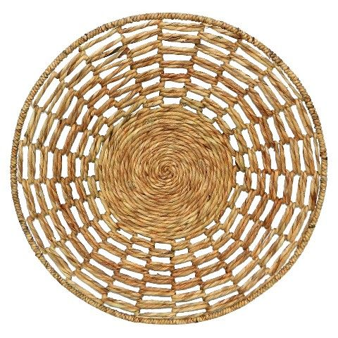 Wall Baskets Decor woven water hyacinth basket wall decortarget | wall decor