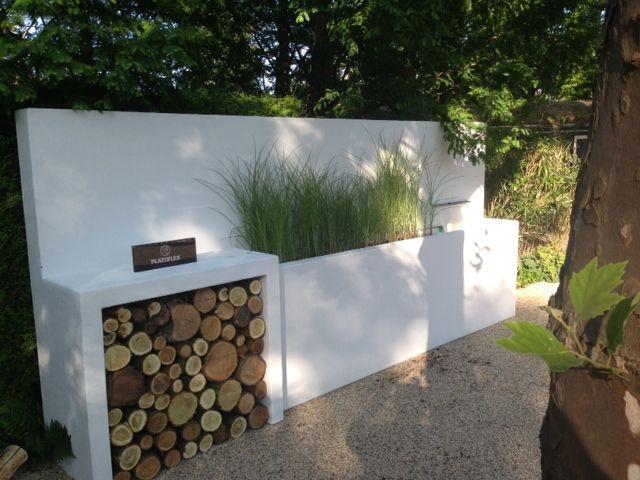 Platoflex muren waterval doorkijk tuin tuin inspiratie