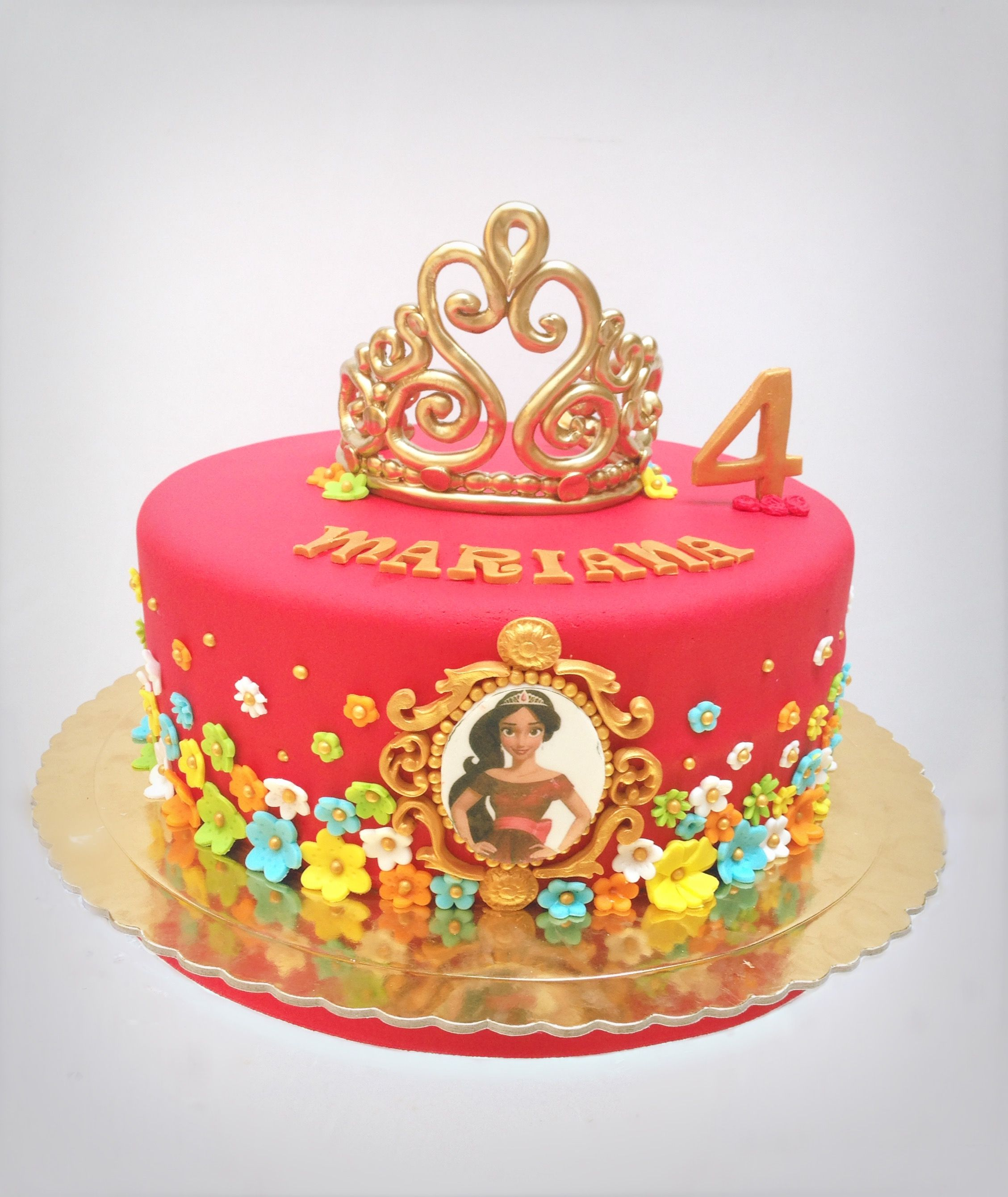 How To Make Elena Of Avalor Cupcake Cake