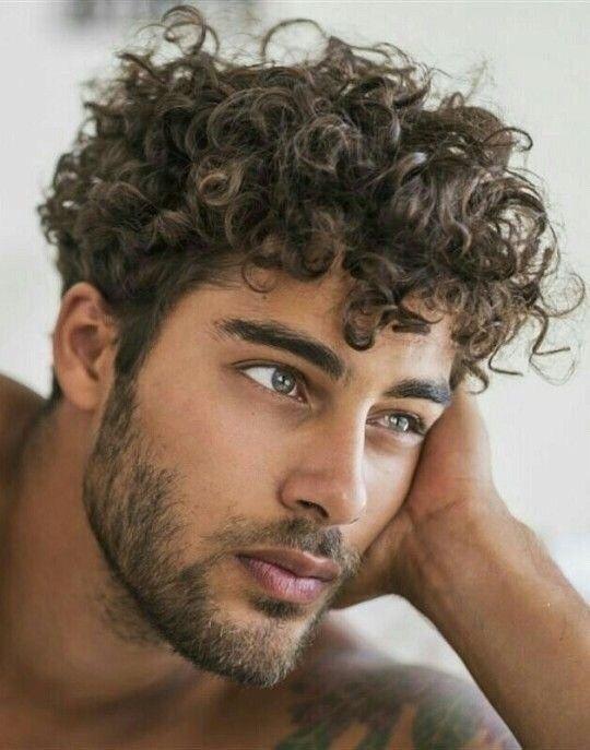 wetlook hår män