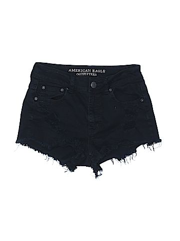 American Eagle Outfitters Denim Shorts   thredUP