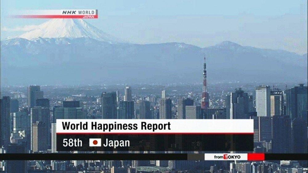 Yaponiya Xosbəxtlik Səviyyəsinə Gorə Dunyada 58 Ci Yeri Tutub Frame Az World Happiness World Japan