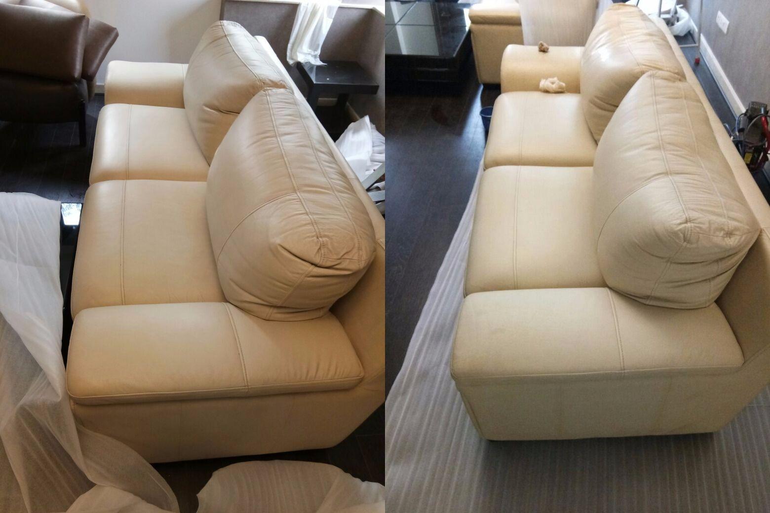Awe Inspiring Leather Sofa Cleaning Restoration Theleatherlaundry Machost Co Dining Chair Design Ideas Machostcouk