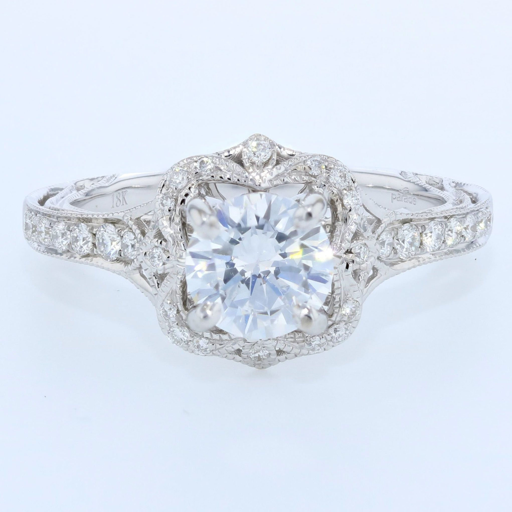 hover white vintage zoom semi parade in rings engagement ring to diamond gold mount primary